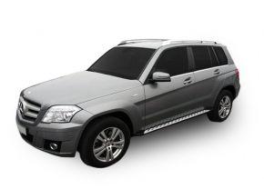 Pedane laterali per Mercedes GLK OE Style, ANNI 2009-
