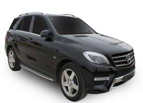 Pedane laterali per Mercedes Benz ML W-166 OE Style, ANNI 2012-