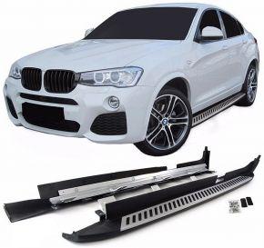 Pedane laterali per BMW X4 F26 2014-2018