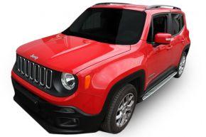 Pedane laterali per Jeep Renegade 2014-up