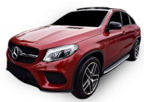 Pedane laterali per Mercedes GLE coupe 2015-2019