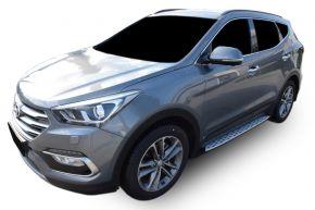 Pedane laterali per Hyundai Santa Fe 2013-2018