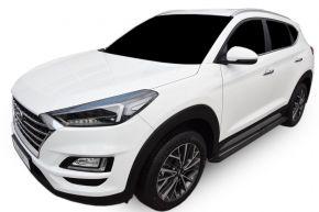 Pedane laterali per Hyundai Tucson 2015-up BLACK
