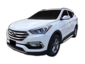 Pedane laterali per Hyundai Santa Fe 2018-up