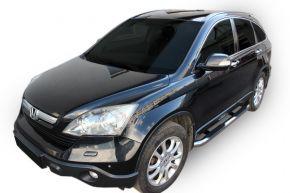 Telai laterali in acciaio inox per Honda CR-V 2006-2012