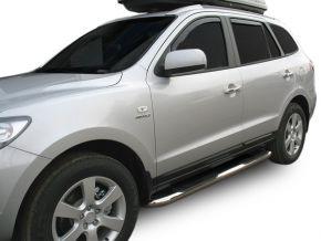 Telai laterali in acciaio inox per Hyundai Santa Fe 2006-2012