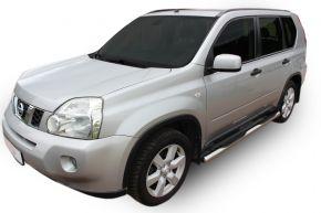 Telai laterali in acciaio inox per Nissan X-Trail T31 2007-2013
