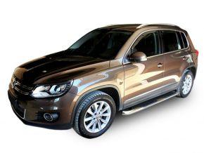 Telai laterali in acciaio inox per Volkswagen Tiguan 2007-2015