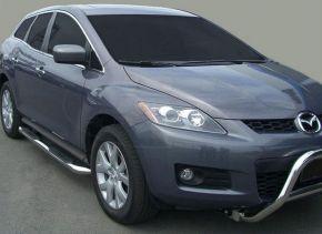Telai laterali in acciaio inox per Mazda CX-7 2007-up