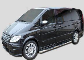 Telai laterali in acciaio inox per Mercedes Vito W639 SWB 2005-2013