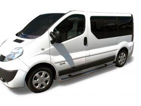 Telai laterali in acciaio inox per Renault Trafic 2002-2011