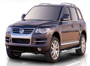 Telai laterali in acciaio inox per Volkswagen Touareg 2002-2010