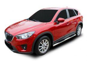 Telai laterali in acciaio inox per Mazda CX-5 2012-2016