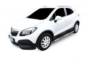 Telai laterali in acciaio inox per Opel Mokka 2012-up