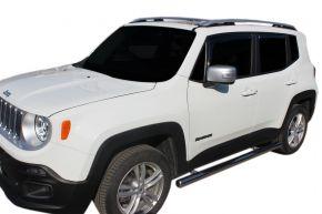 Telai laterali in acciaio inox per Jeep Renegade 2014-up