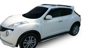 Telai laterali in acciaio inox per Nissan Juke 2010-2014 / 2014-2019 60,3 mm