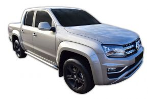 Telai laterali in acciaio inox per Volkswagen Amarok 2010-2016, 2016-up