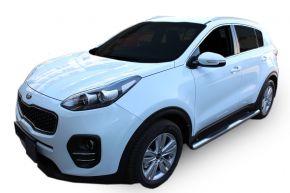 Telai laterali in acciaio inox per Kia Sportage 2015-up