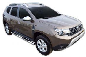 Telai laterali in acciaio inox per Dacia Duster 2 2018-up