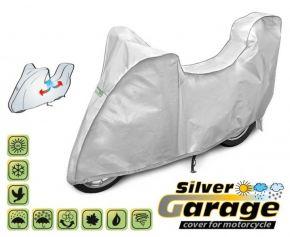 Copertura protettivo per moto SILVER GARAGE 215-240 cm + bagagliaio
