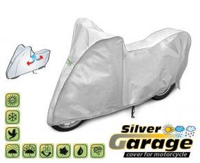 Copertura protettivo per moto SILVER GARAGE 190-215 cm