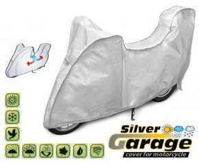 Copertura protettivo per moto SILVER GARAGE 240-265 cm + bagagliaio