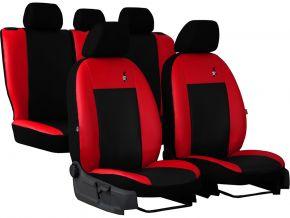 Copri sedili universali In pelle ROAD rosso
