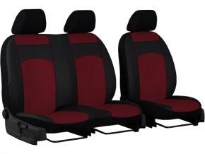 Copri sedili su misura In pelle Standard FIAT DUCATO I 2+1 (1981-1993)