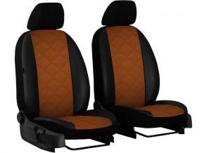 Copri sedili su misura In pelle con stampa FIAT SCUDO II 1+1 (2007-2016)