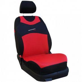 T-shirt auto Sport Line, rosso, anteriori 2 pz.