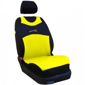 T-shirt auto Sport Line, giallo, anteriori 2 pz.