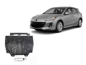 Protezioni di motore e cambio Mazda 3 1,5; 1,6; 2,0 2013-
