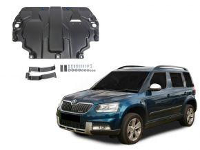 Protezioni di motore e cambio Skoda  Yeti si adatta a tutti i motori 2009-2017