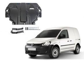 Protezioni di motore e cambio Volkswagen  Caddy IV si adatta a tutti i motori (w/o heating system) 2015-