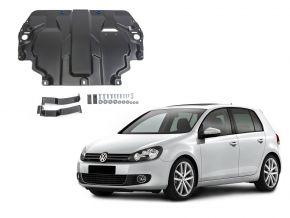 Protezioni di motore e cambio Volkswagen  Golf VI si adatta a tutti i motori 2009-2013