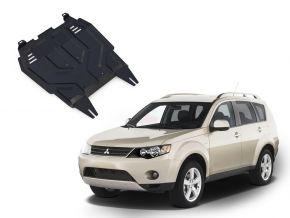 Protezioni di motore e cambio Mitsubishi Outlander  2,0; 2,4 2007-2012