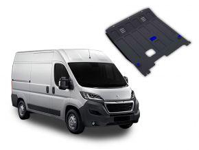Protezioni di motore e cambio Peugeot  Boxer si adatta a tutti i motori 2014