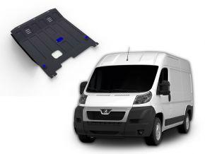 Protezioni di motore e cambio Peugeot  Boxer si adatta a tutti i motori 2006-
