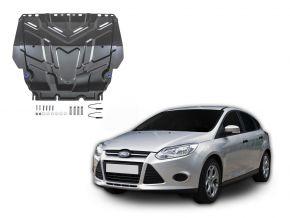 Protezioni di motore e cambio Ford  Focus III si adatta a tutti i motori 2011-2018