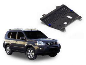 Protezioni di motore e cambio Nissan  X-Trail T31 2,0; 2,5 2007-2013