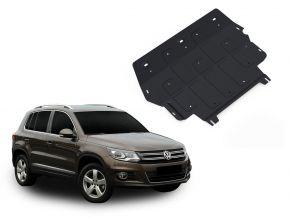 Protezioni di motore e cambio Volkswagen Tiguan 2,0TSI; 2,0TDI 2008-2011; 2011-2016