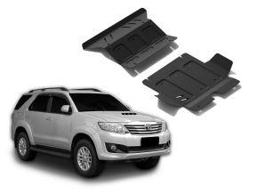 Opertura del motore e radiatore in acciaio per Toyota Fortuner 2,5TD; 3,0TD; 2,7  2007-2015