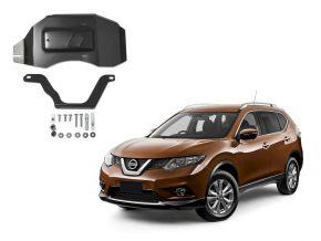 Copertura differenziale in acciaio Nissan X-Trail 4WD 2,0; 4WD 2,5 (solo per il motore specificato!), 2015-