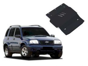 Protezioni di motore e cambio Chevrolet Tracker si adatta a tutti i motori 1998-2004