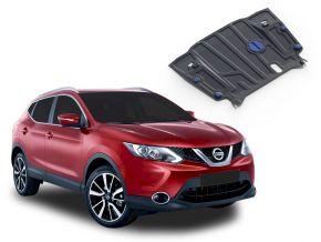 Protezioni di motore e cambio Nissan Qashqai CVT 2,0; 1,2; 1,6D 2014-2019