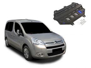 Protezioni di motore e cambio Citroen Berlingo si adatta a tutti i motori 2008-