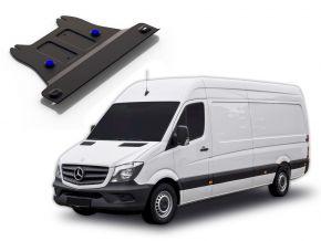 Coperchio cambio in acciaio per MERCEDES BENZ SPRINTER 2WD 311CDI; 2WD 315CDI; 2WD 515CDI solo per il motore specificato! 2013-