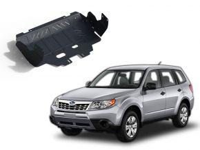 Opertura del motore e radiatore in acciaio per Subaru Forester CVT 2,0; 2,5 2013-2016; 2016-2018