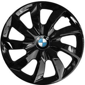 """Copricerchi per BMW 14"""", STIG NERO LACCATO 4 pz"""