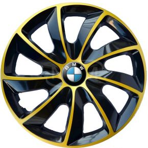 "Copricerchi per BMW 15"", STIG EXTRA oro  4pz"